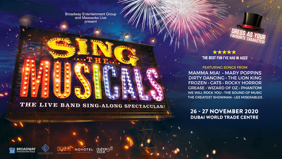 Sing The Musicals Dubai 2020