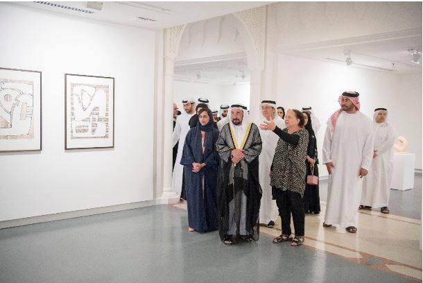 Press Release – Mona Saudi, Poetry and Form Exhibition 2018