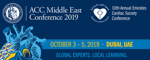ACC Middle East Conference 2019 Dubai on Oct 3rd – 5th at InterContinental, Fesival City