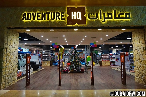 Adventure HQ Dubai – Shops in Dubai, UAE