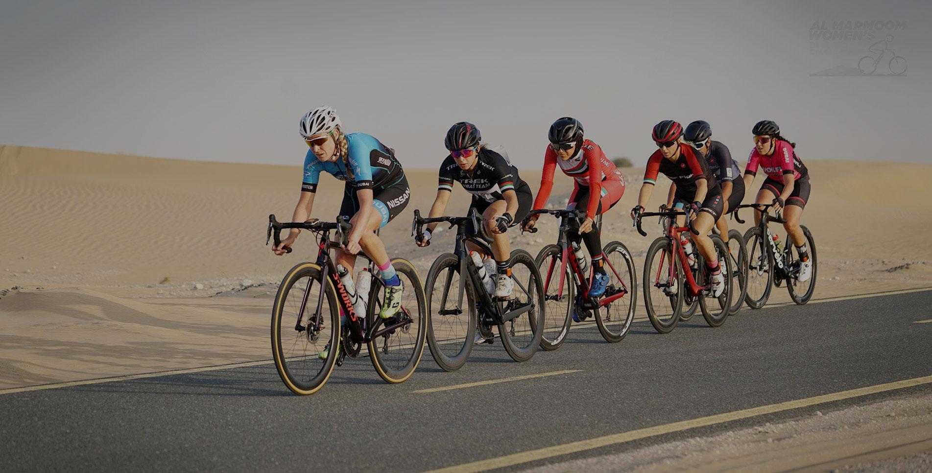 Al Marmoom Women's Cycling Challenge on Apr 10th at Al Qudra Cycle Track Dubai