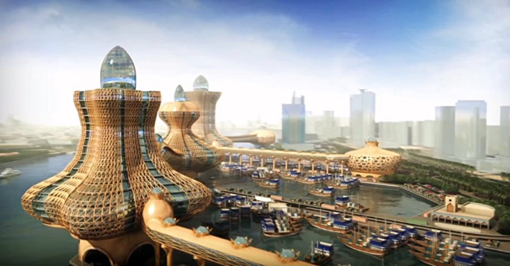 Aladdin City in Dubai