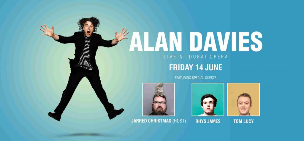 Alan Davies at Dubai Opera