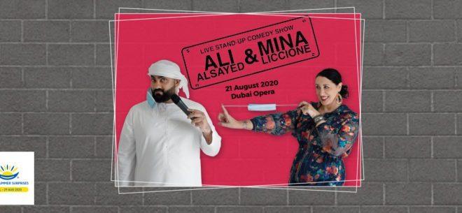 Ali Al Sayed and Mina Liccione Live Dubai 2020