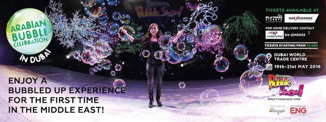 Arabian Bubble Celebration