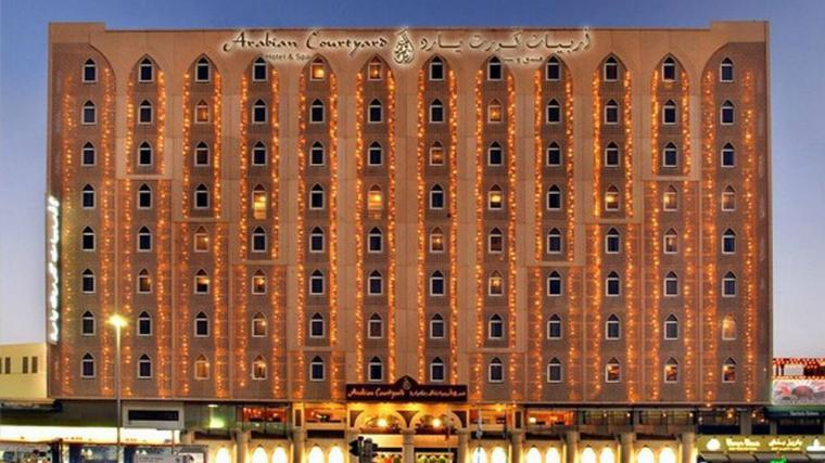 Arabian Courtyard Hotel |  4 Star Hotel in Dubai, UAE