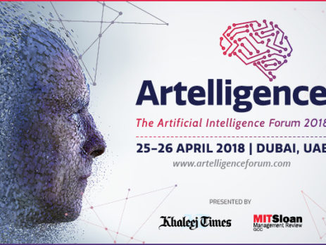 Artelligence – The Artificial Intelligence Forum in Dubai, UAE – April 25 – 26, 2018