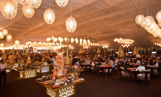 Asateer Tent at Atlantis The Palm Dubai