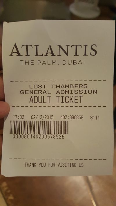 Atlantis, The Palm Hotel Dubai