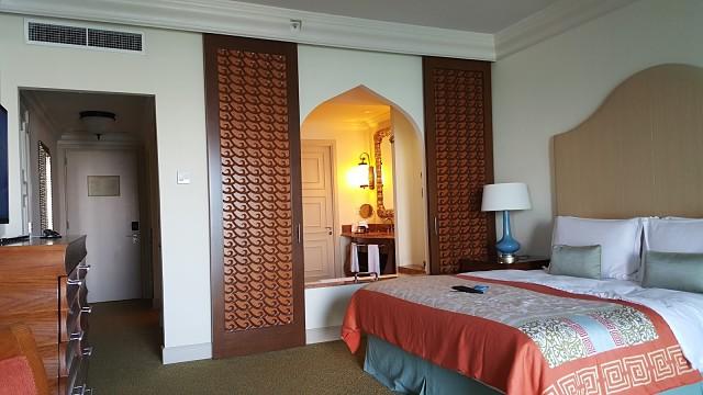 Atlantis, The Palm Hotel Dubai - Bed room details