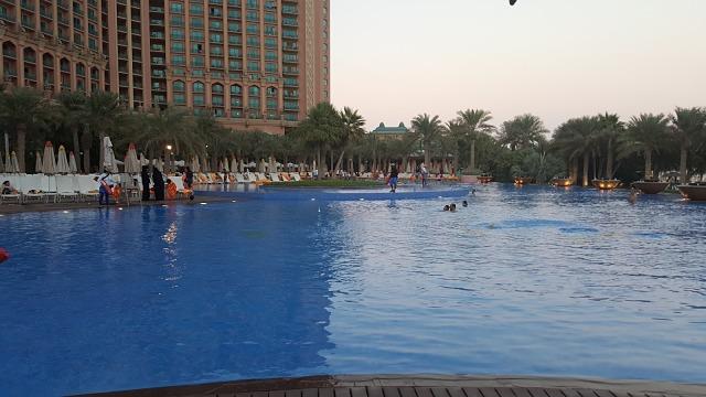 Atlantis, The Palm Hotel Dubai - Pool area