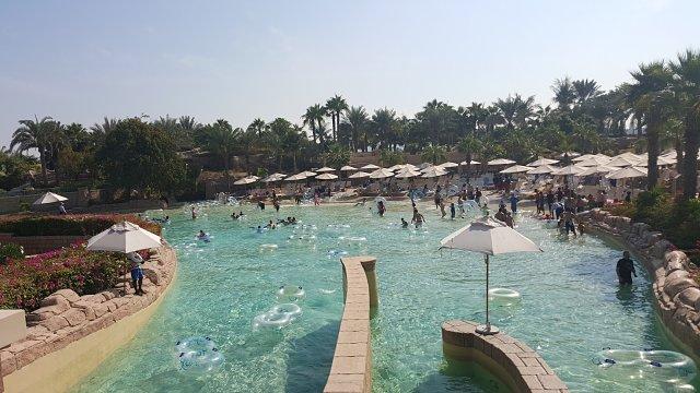 Atlantis, The Palm Hotel Dubai - Pool rides