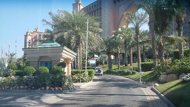 Atlantis The Palm Hotel Dubai - Front view