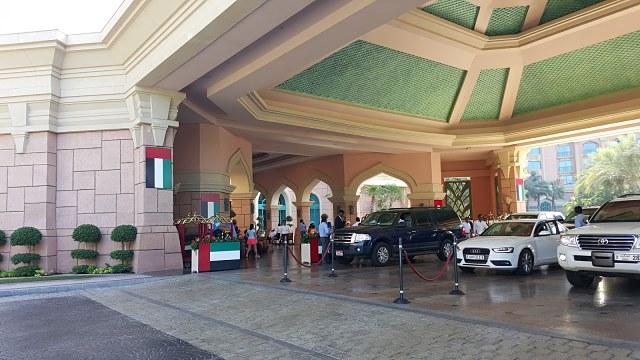 Atlantis The Palm Hotel Dubai - Entrance area