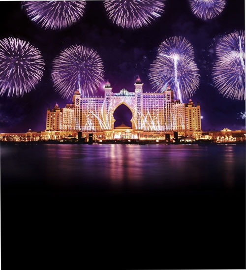 World's largest fireworks display 2014 Dubai