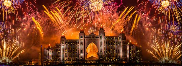 The Atlantis Royal Gala – New Year Eve Party Events in Dubai, UAE.