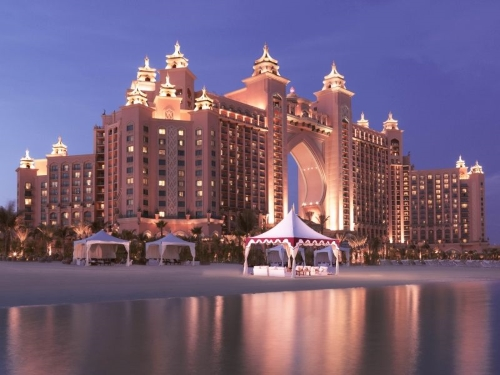 New Year Party 2015 at Atlantis The Palm Dubai