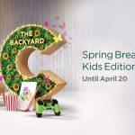 Backyard Spring Breaks at City Centre Me'aisem