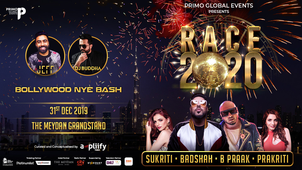 Badshah & B Praak Live in Concert – Race 2020 Dubai