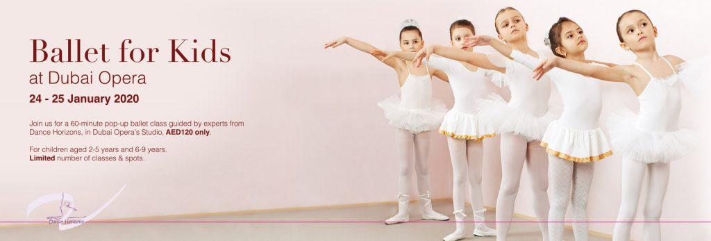Ballet for Kids at Dubai Opera