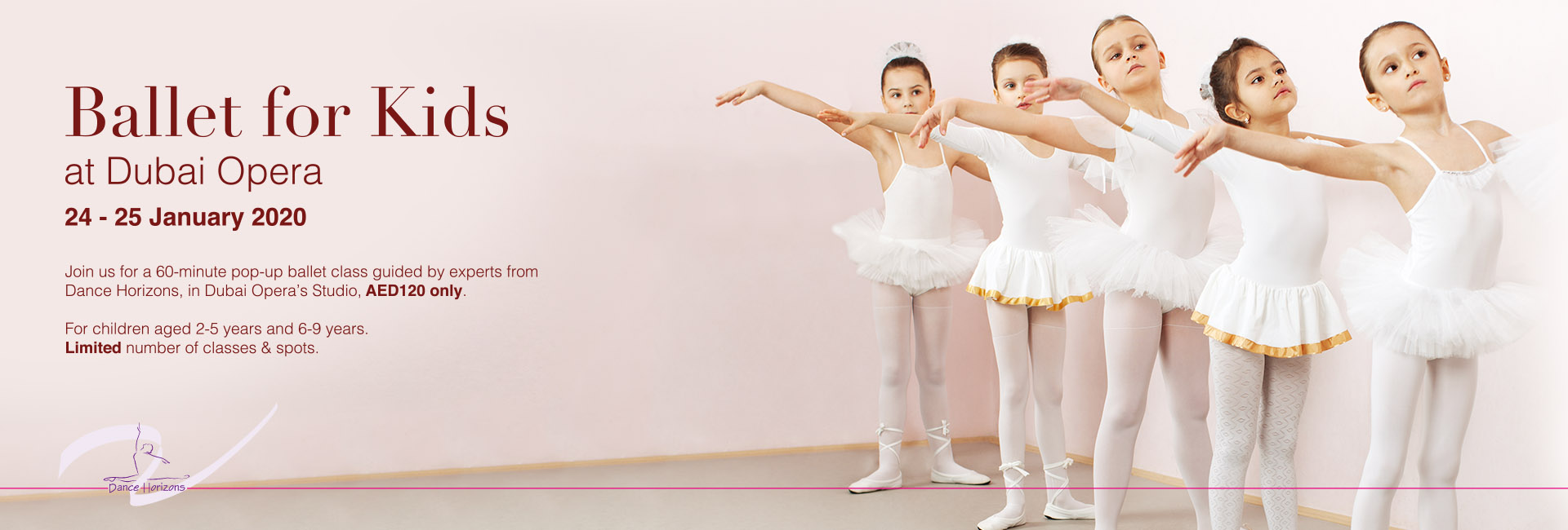 Ballet for Kids on Jan 24th – 25th at Dubai Opera