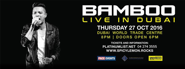 Bamboo Live in Dubai – Events in Dubai, UAE.