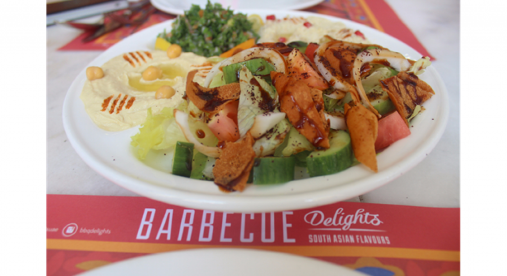 Arabic mezze - Barbecue Delights Restaurant Review - Dubai UAE