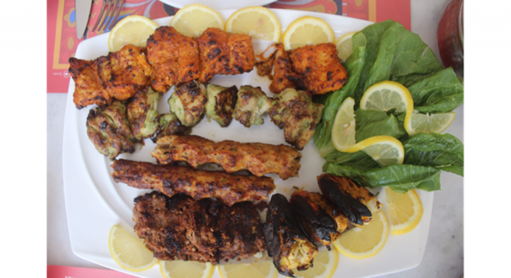 Special Afghani Mix Grill Platter - Barbecue Delights Restaurant Review - Dubai UAE