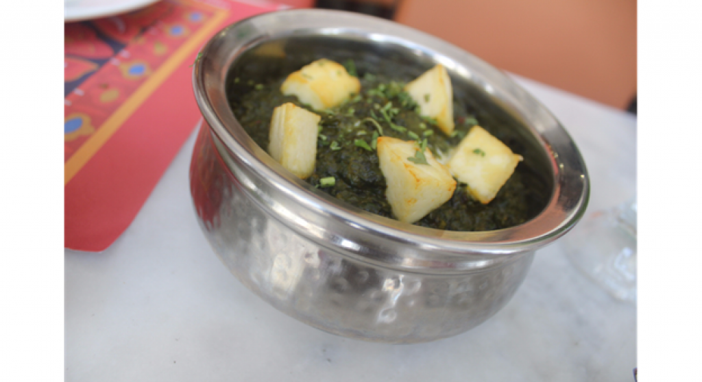 Palak Paneer - Barbecue Delights Restaurant Review - Dubai UAE