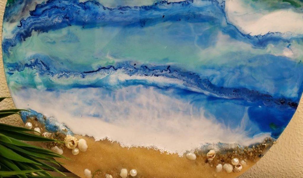 Beach Resin Painting Workshop