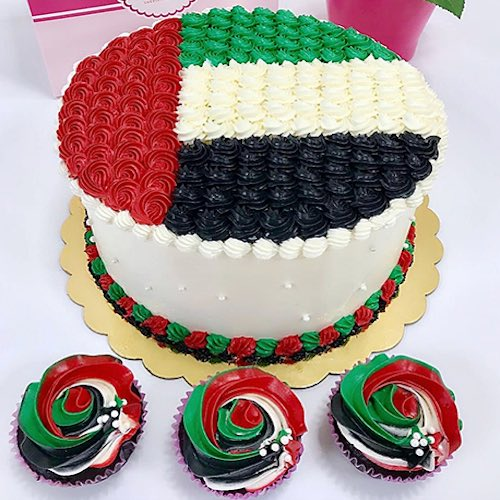 Best National Day Cakes and gifts in UAE – Cakes with your company logo