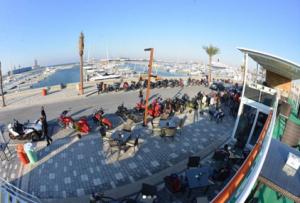 Biker's Station Cafe - Marina Cube in Dubai, UAE