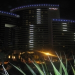 Blue Vibe Ladies Night at Grand Hyatt restaurant in Dubai, UAE
