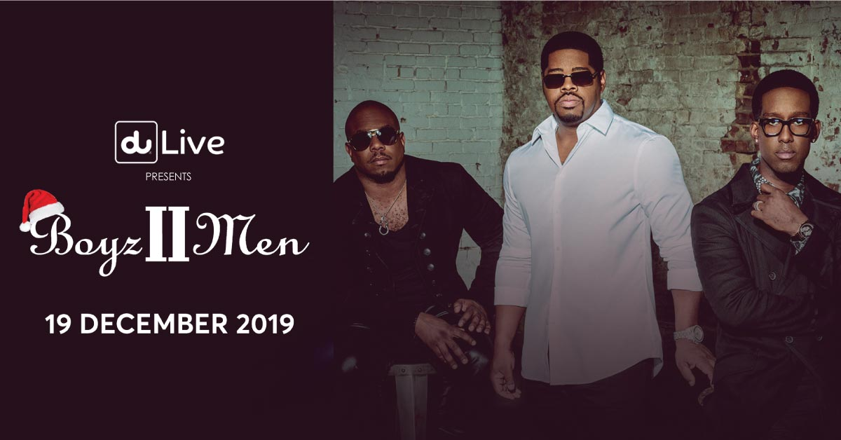 Boyz II Men at Coca-Cola Arena on Dec 19th Dubai 2019