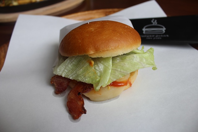 Burger Joint NY - Cheese and Southern Chicken Burger