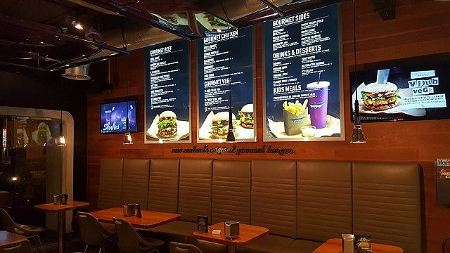 Burgerfuel Restaurant Dubai, UAE - Review - Menu