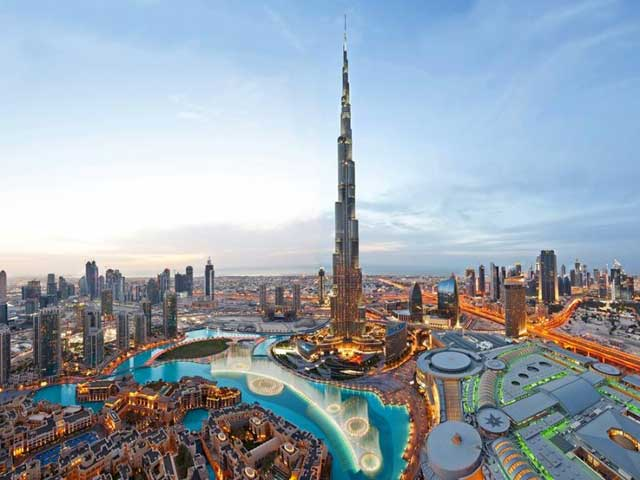 Burj Khalifa and Dubai Fountain
