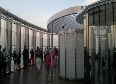 Burj Khalifa in Dubai, UAE