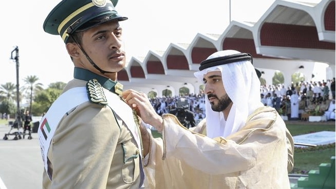 Cadet Officers Graduation on Jan 2nd – 9th Dubai 2020