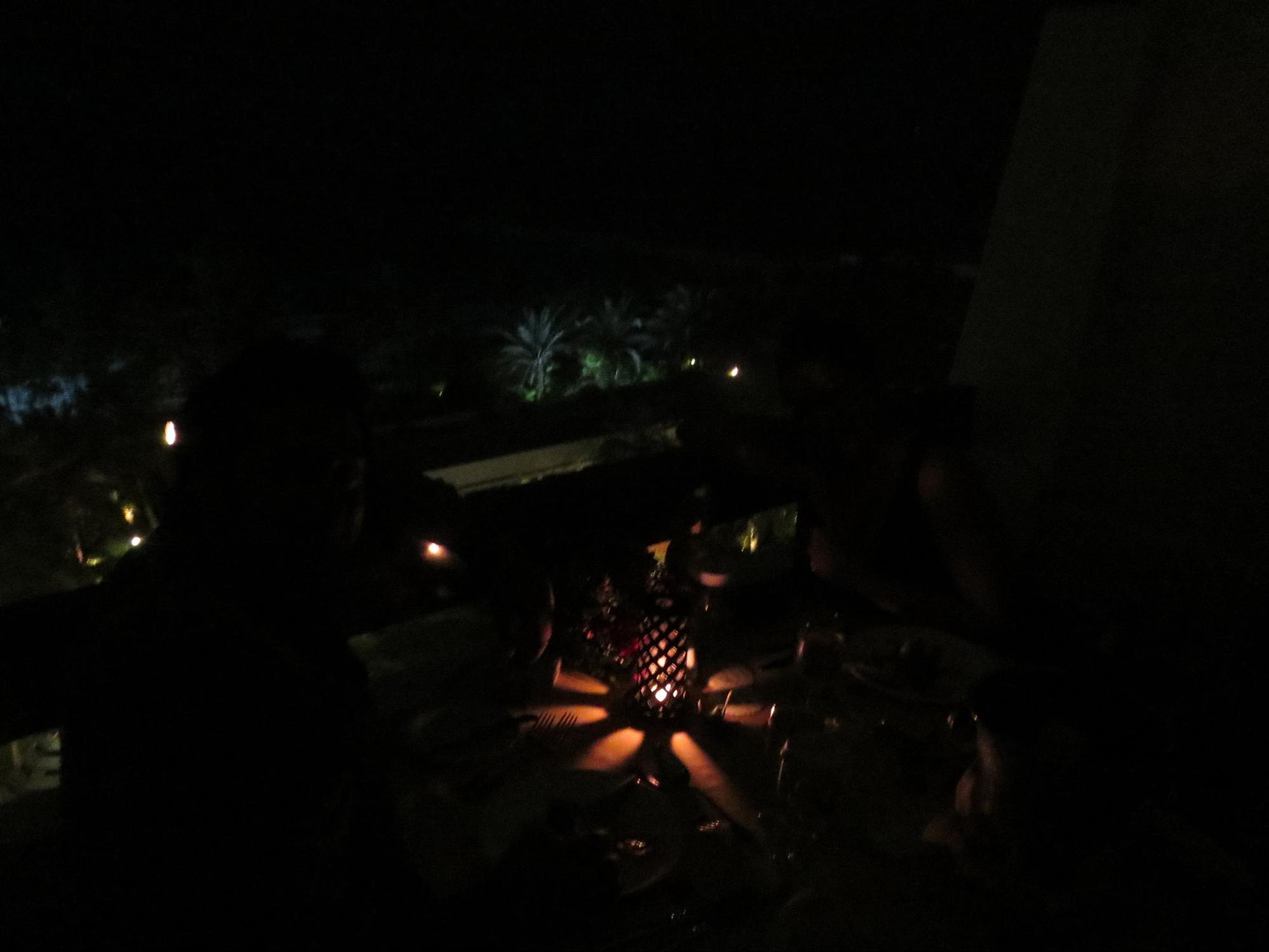 Kempinski Hotel, Ajman Review - Candle Light Dinner