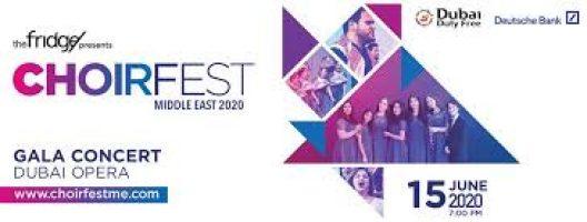 ChoirFest ME's Junior Gala Concert on Jun 15th at Dubai Opera