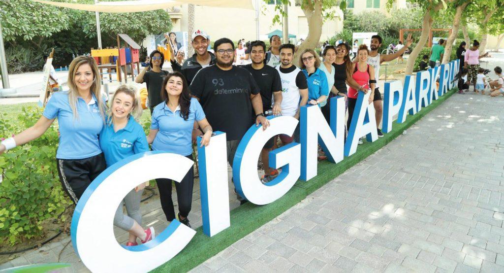 Cigna Park Run: 1 February Dubai