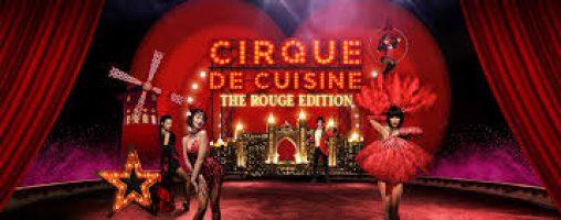Cirque De Cuisine: The Rouge Edition on Mar 19th at Atlantis, The Palm Dubai