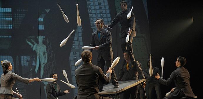 Cirque Eloize presents Cirkopolis in Dubai, UAE