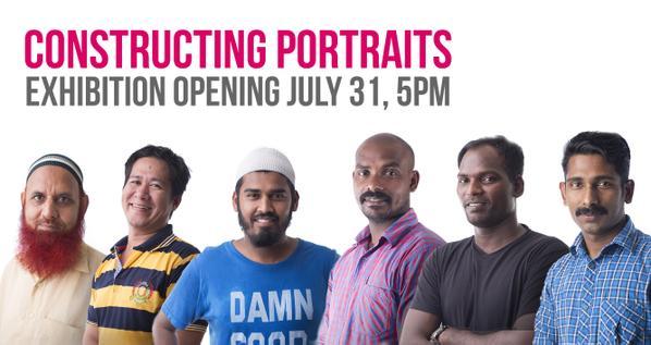 Constructing Portraits Photography Exhibition in Dubai, UAE