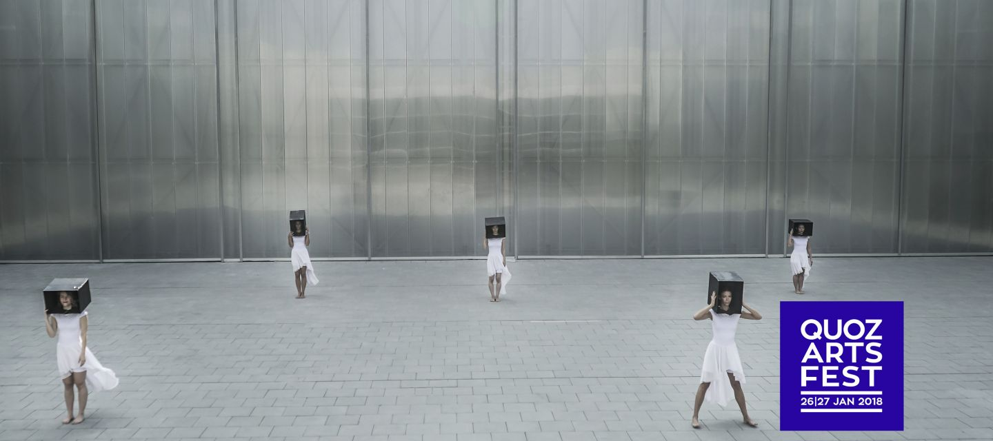 Contemporary Dance Performance at Alserkal Avenue Dubai 2019