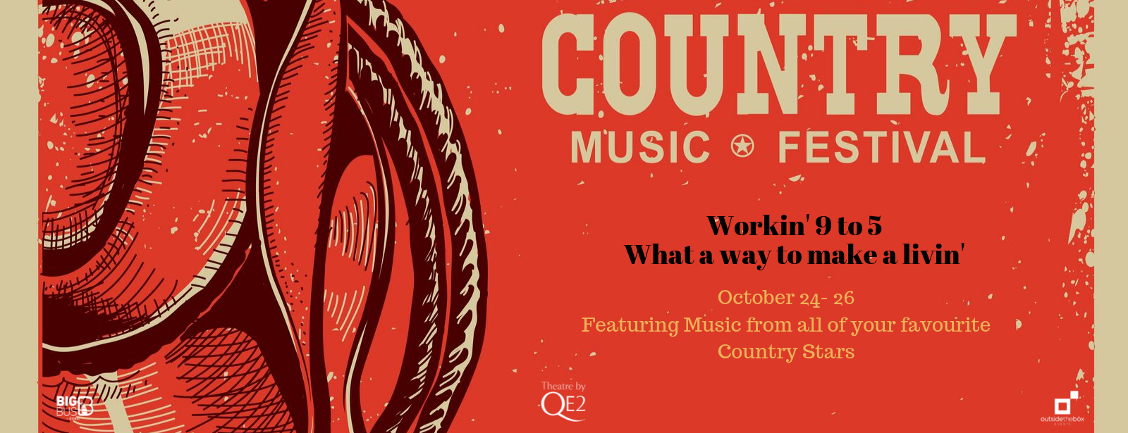 Country Music Festival Dubai 2019 on Oct 24th – 26th at Queen Elizabeth 2