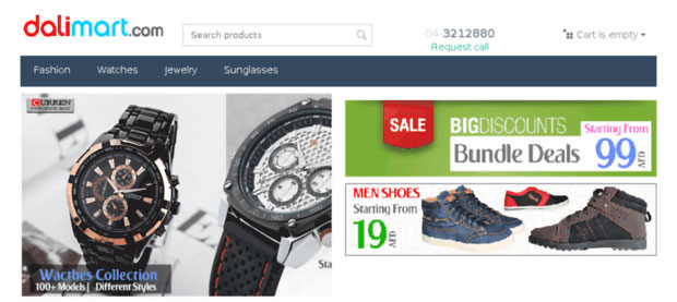 Dalimart.com Online Shop Dubai, UAE