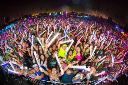Daman's Activelife Electric Run 2016 - Dubai, UAE.