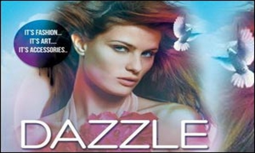 Dazzle Fashion Exhibition 2015 in Dubai, UAE